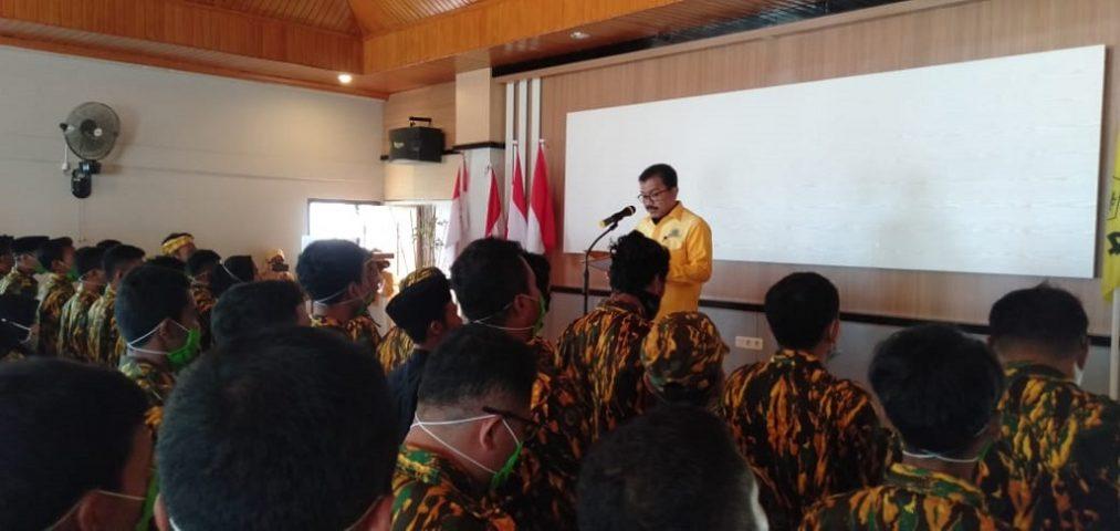 Putra Ketua DPRD Wakatobi Pimpin AMPG, Arhawi: Belajar lah!