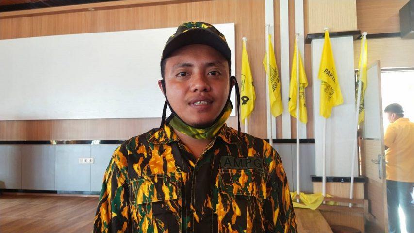 Ketua AMPG Wakatobi Ahmad Bilfaqih