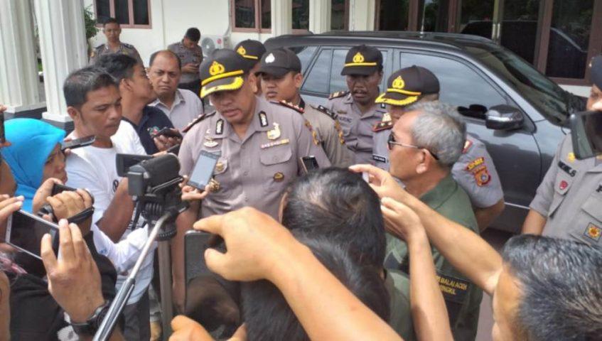 Ini Kata Polres Aceh Singkil Terkait Kasus Penembakan