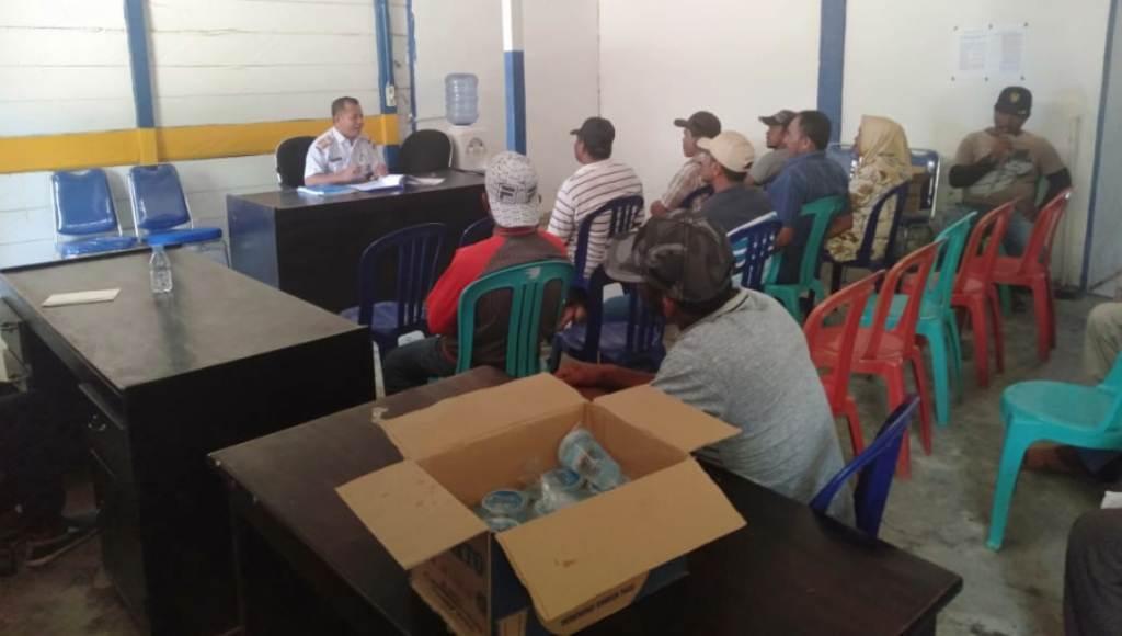 Berkas Digugurkan, Cakades di Mubar Mengadu di Kesbang Pol