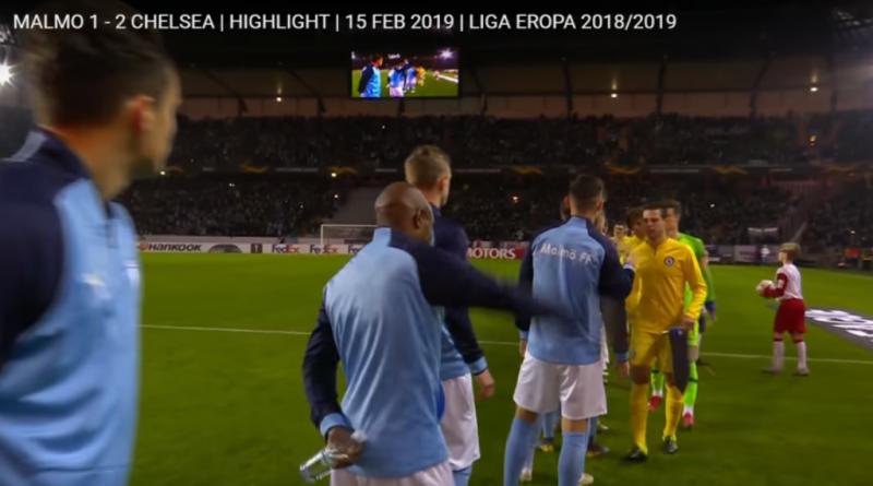 Cuplikan Liga Eropa, Malmo 1 - 2 Chelsea