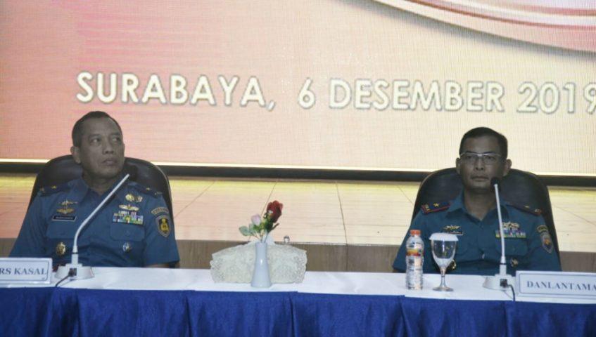 Koarmada II Tuan Rumah Sarasehan Perwira TNI AL Korps Khusus