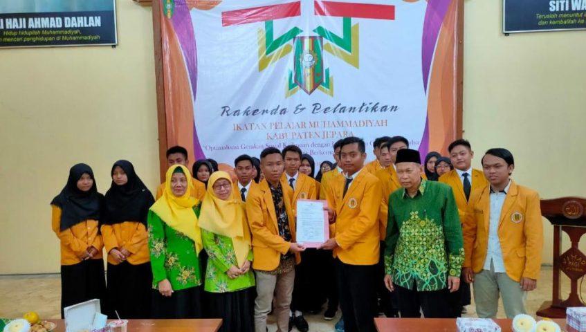 Ongki Widodo Pimpin Pelajar Muhammadiyah Jepara