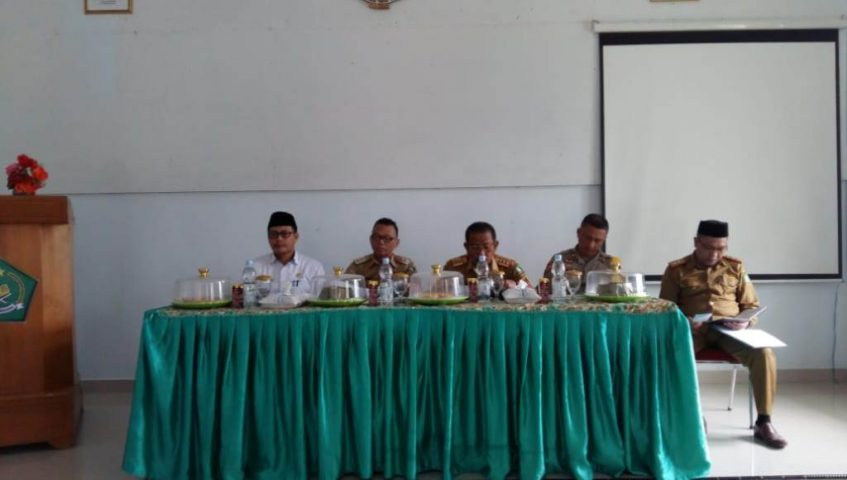 Wakil Bupati Kolut pimpin Rakor Pemberangkatan CJH