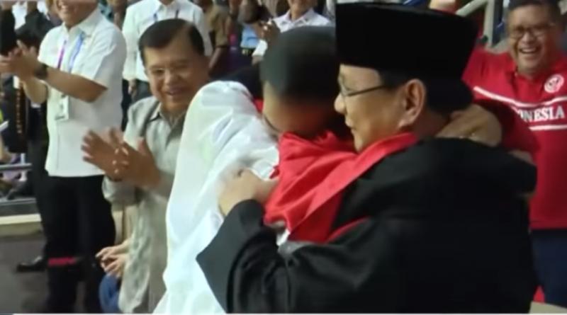 Jokowi: Selamat Prabowo Sukses Raih 14 Emas Asian Games 2018