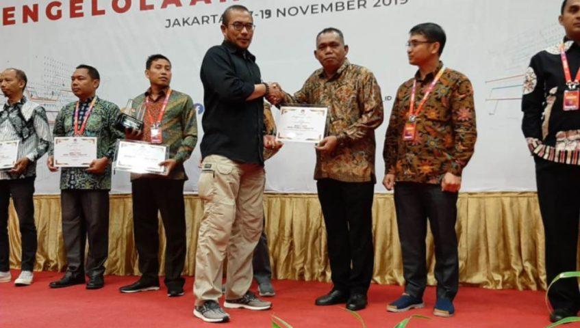 KPU Sultra Raih Juara 3 Nasional PPID Terinformatif