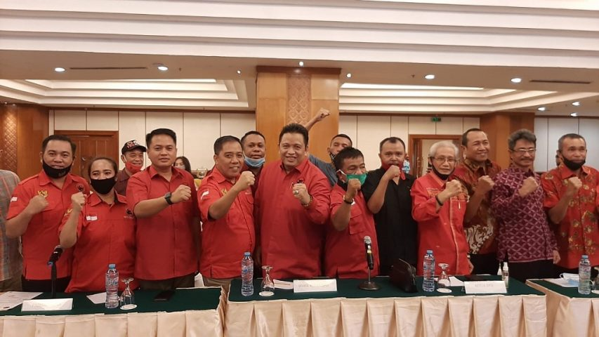 Rekomendasi PDIP untuk Rusman Emba - Bachrun Labuta di Pilkada Muna