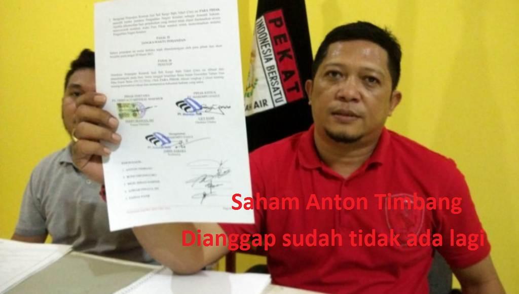Perusahaan Tambang PT Masempo Dalle Konut Kini Beralih Kepemilikan