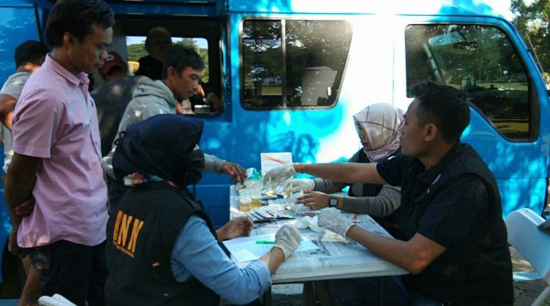 Sopir Antar Sulawesi Positif Konsumsi Narkoba Diamankan BNNK Kolaka