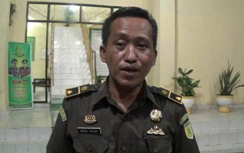 Kepala Seksi Pidana Khusus Kejari Kolaka Abdul Salam, SH