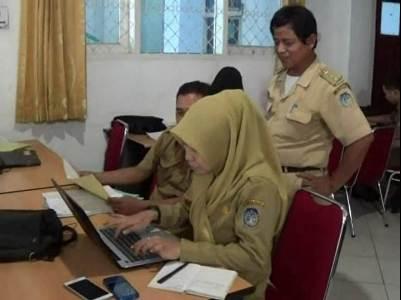 Aktifitas Aparatur Sipil Negara di Kabupaten Kolaka. FOTO : LAN