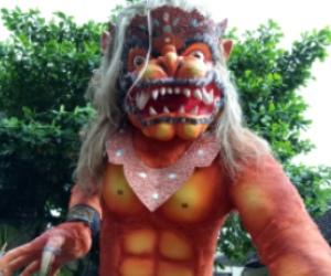 Atraksi Ogoh-ogoh Sambut Hari Nyepi