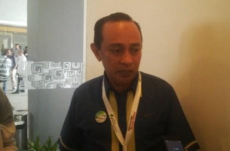 Kepala BPJS Ketenagakerjaan Sultra La Uno. FOTO : BAIM. J