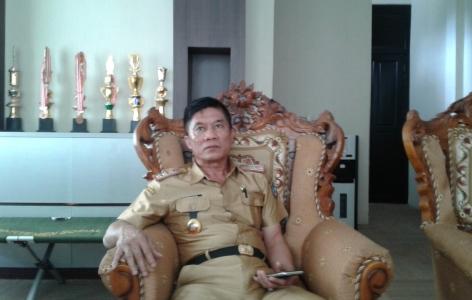 kepala dinas Sosial kabupaten konawe Selatan Burahim, S.Pd, M.Pd