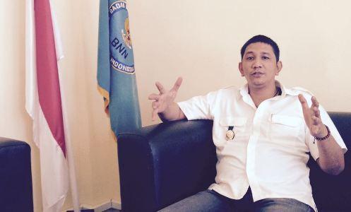 Kepala BNNK Kolaka Eryan Noviandi. FOTO : LAN