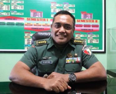 Kepala Penerangan Kodam (Kapendam), Kolonel (Arh) Shintu Bas Ignatius, S.Sos. FOTO : ASL