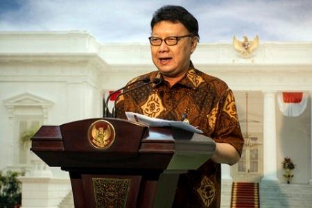 Menteri dalam Negeri RI Tjayo Kumolo. FOTO : INT