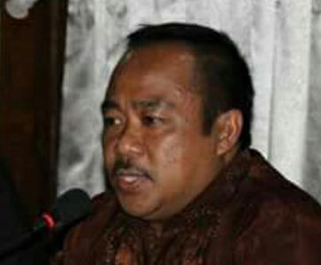 Kepala seksi pelayanan Haji Kantor Kemenag Bantaeng H. Muh. Tahir, S.Ag, MM