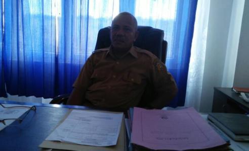 Kepala Dinas Kesehatan kabuoaten Buton Sumardin FOTO : LA ODE ALI