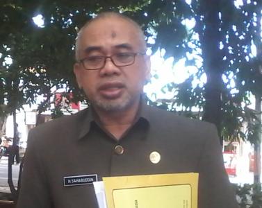 Ketua DPRD Bantaeng H. Sahabuddin. FOTO : SYAMSUDDIN