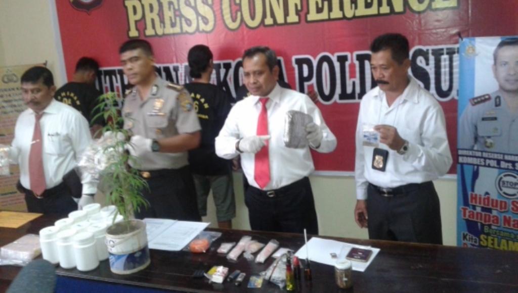 Polisi Tangkap, Pemilik Tanaman Ganja