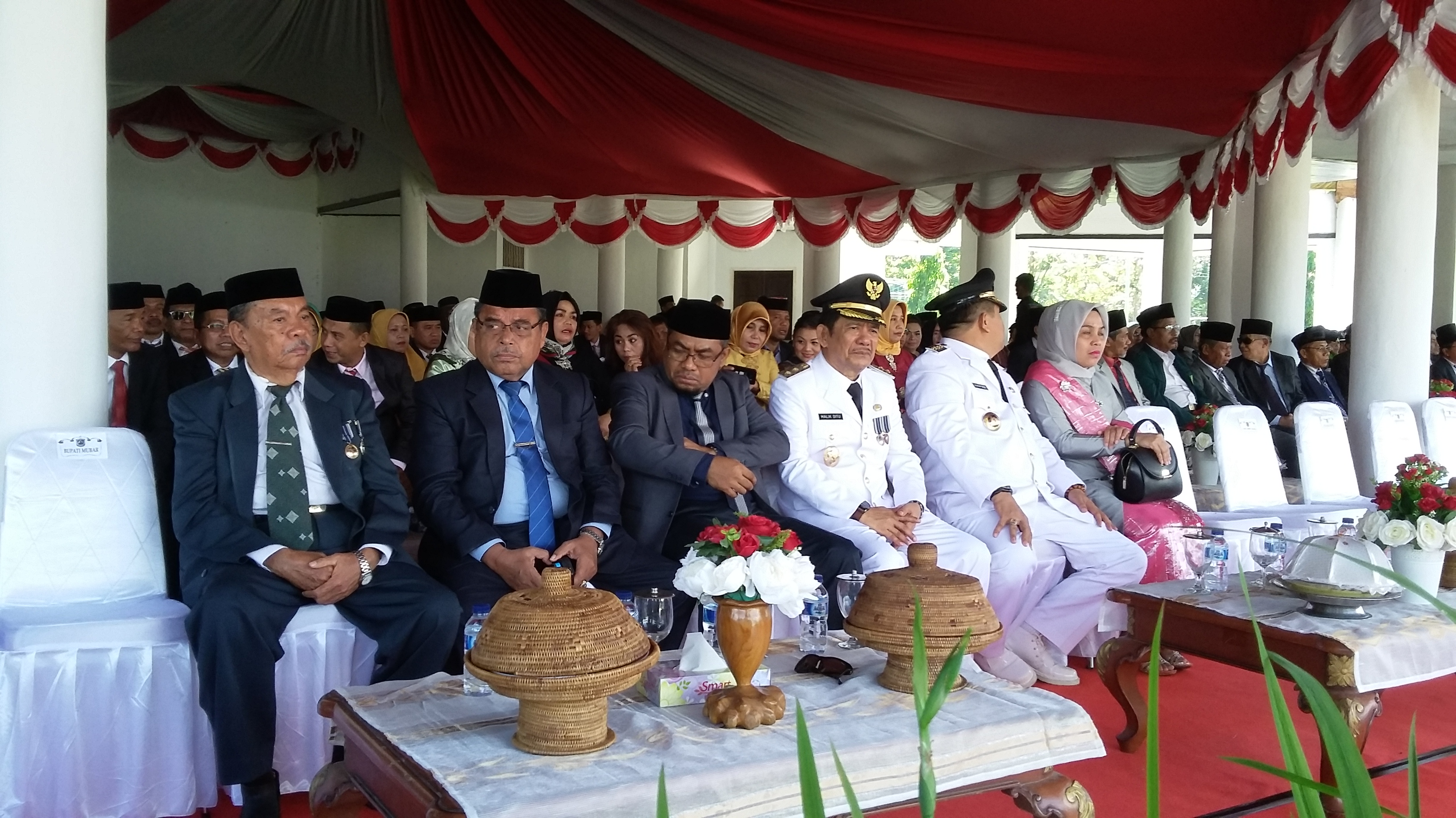 Bupati Pimpin Upacara HUT ke 58 Kabupaten Muna