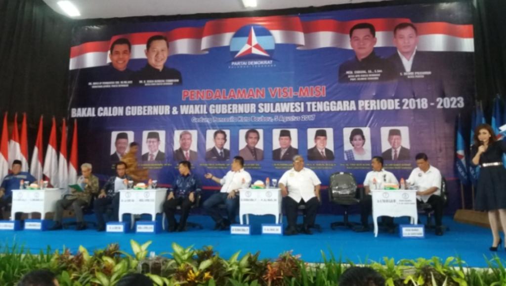 Tina Nur Alam Tidak Hadir di Pemaparan Visi Misi Demokrat