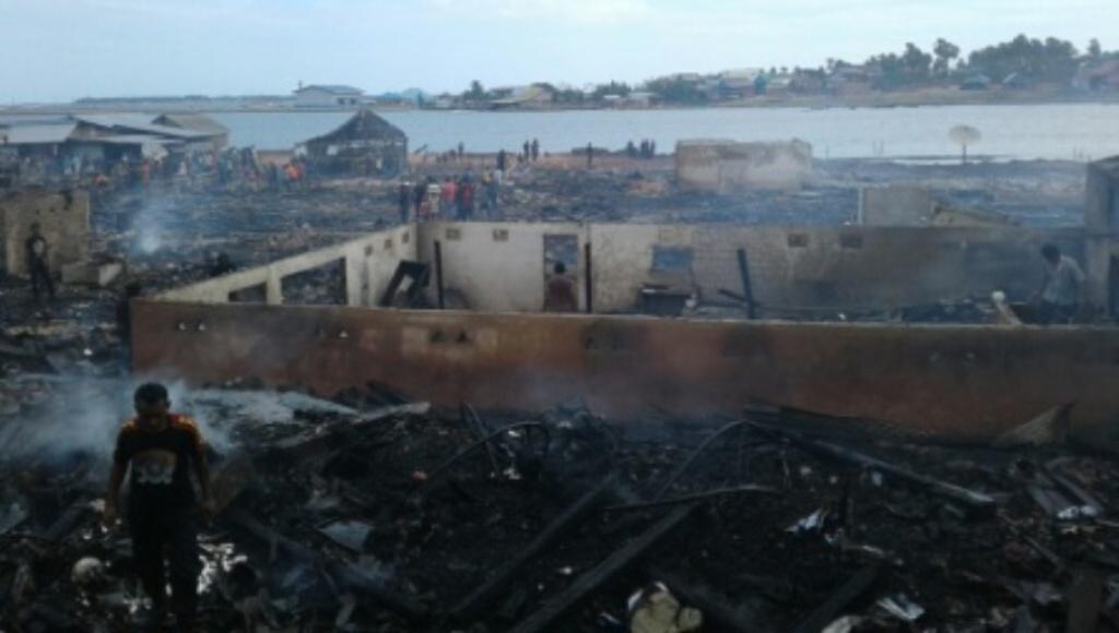 23 Unit Rumah LudesTerbakar, Ini Penyebabnya