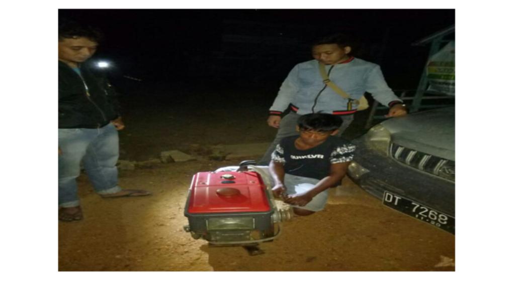 Polisi Amankan Dua Pelaku Pencurian Mesin Traktor