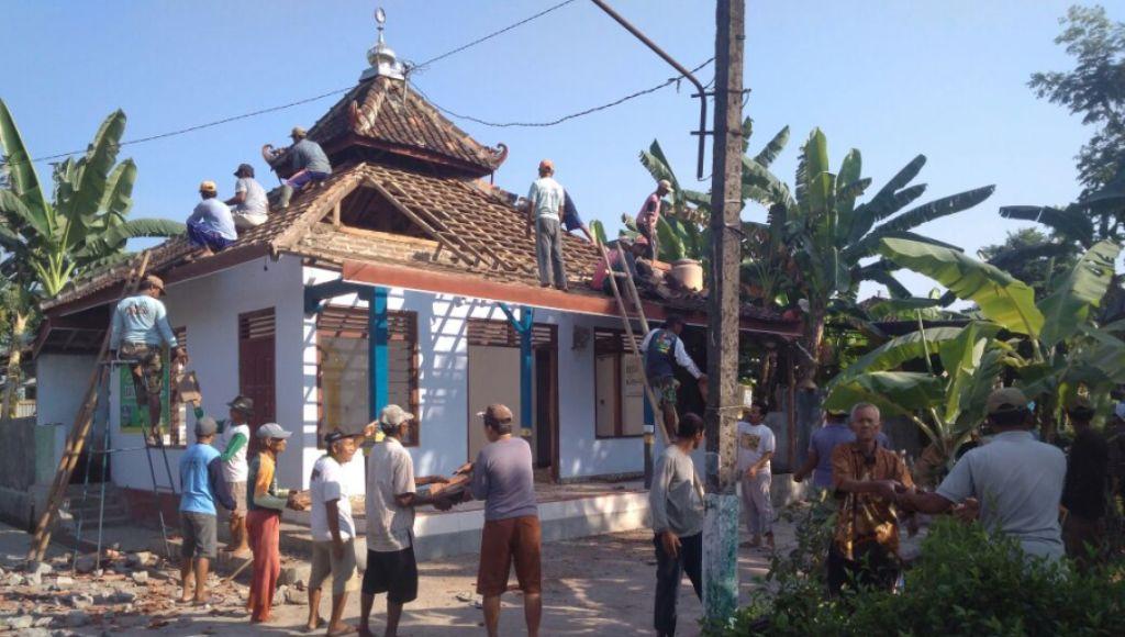 Hendak Renovasi Masjid ini yang Terjadi pada 3 Buruh