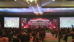 Presiden Jokowi Hadiri HUT ke 58 Pemuda Pancasila di Solo