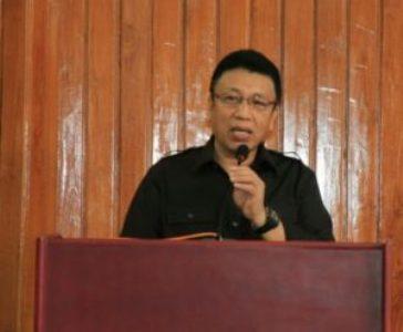Sekretaris Kota Kendari H. Alamsyan Lotunani
