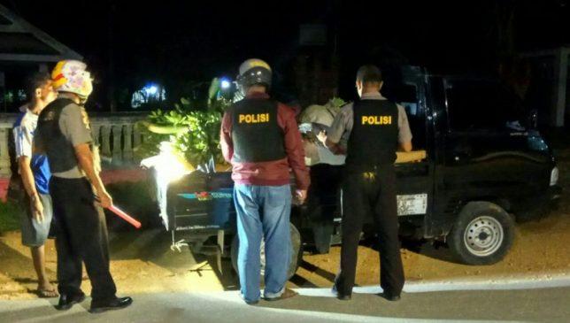 Jelang Ramadhan, Polsek Gu Rutin Gelar Operasi Pekat Anoa