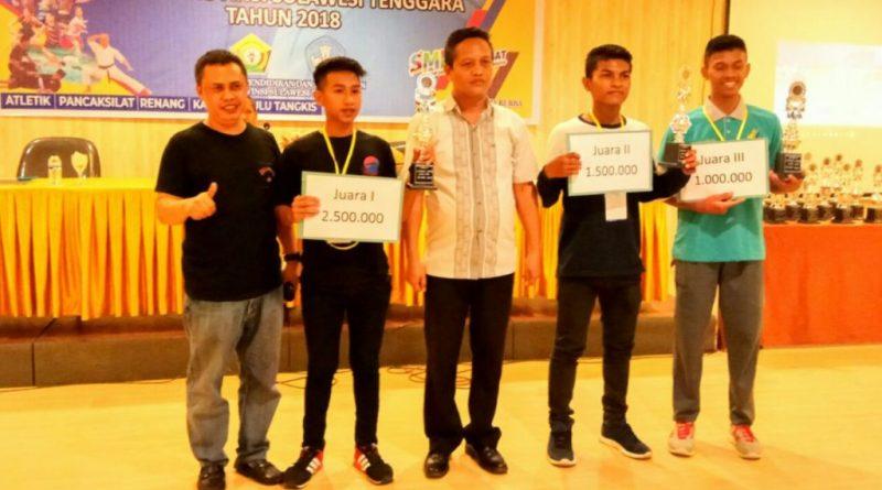 Dikbud Sultra Tutup Lomba O2SN, Ini Nama Para Juara