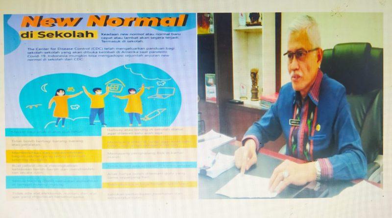 Definisi New Normal Menurut DikBud Sultra