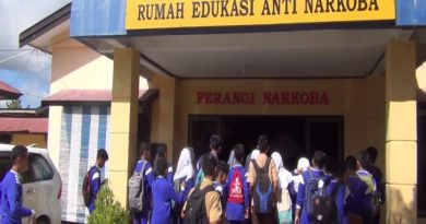 Polisi Ajak Pelajar Kenali Rumah Edukasi Anti Narkoba