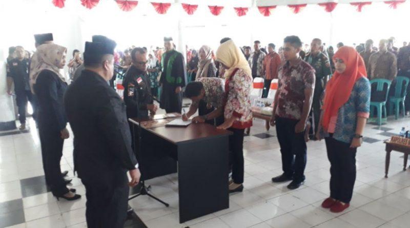 516 PPK dan PPS Resmi Dilantik KPU Muna