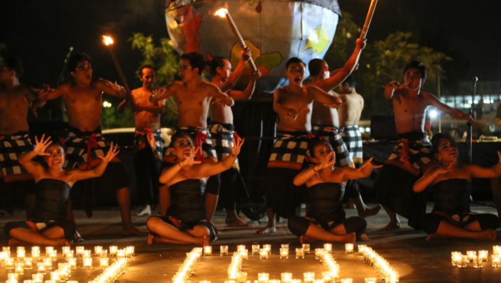 Begini Antusiasme Warga Bali Ikuti Kampanye Switch Off 2018