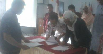 Pasangan Bakal calon Bupati dan Wabup Bantaeng Basmalah Gugur