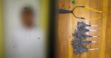 Cegah Bentrok, Polres Baubau Patroli Cipkon, Temukan Sejumlah Busur
