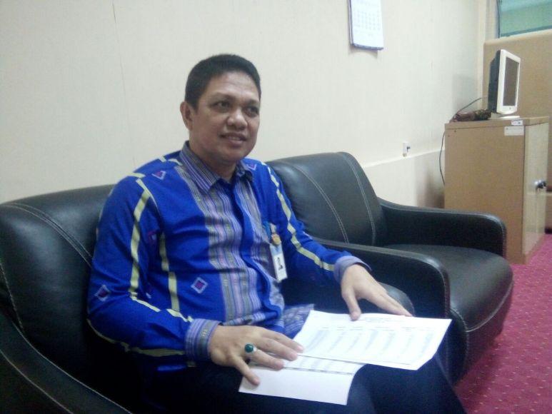 Manajemen Intern dan Sistem Pembayaran KPw BI Sultra, Bachtiar Zaadi. FOTO : LM FAISAL