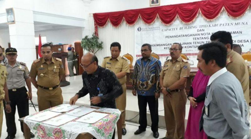 BI Buka Layanan Kas Titipan di Kabupaten Muna