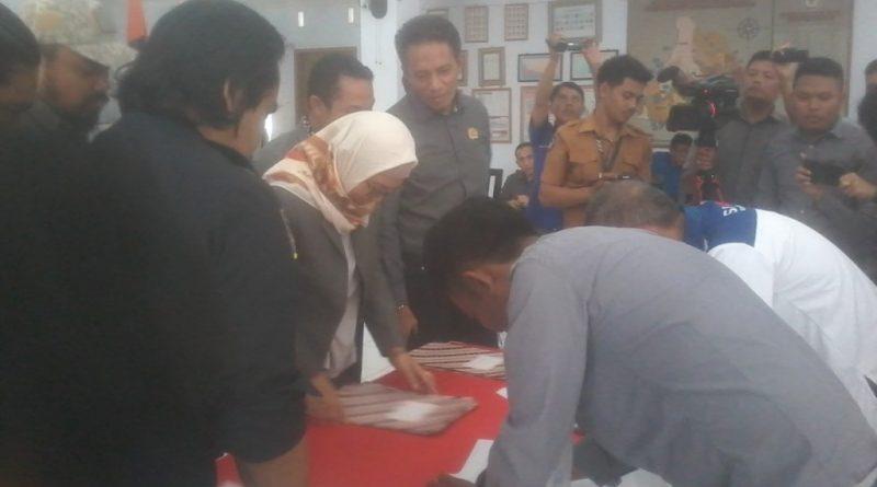 KPU Tetapkan Tiga Paslon Bupati Bantaeng
