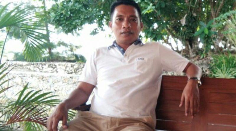 Surat pernyataan pengunduran diri Wakil Ketua DPD PAN Wakatobi Badalan