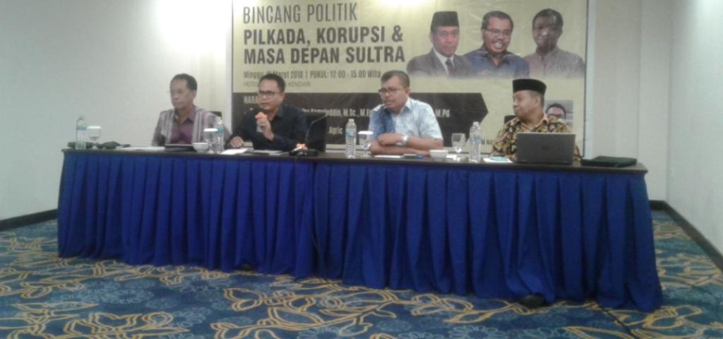 Tiga Rektor Jadi Pembicara Diacara Bincang Politik Sultra