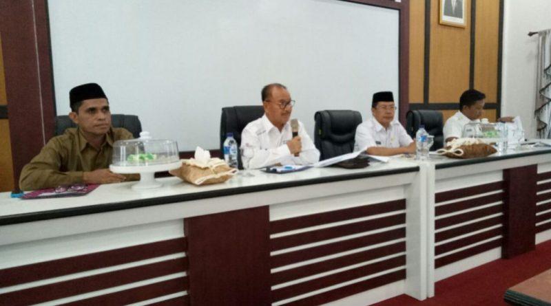 Pemda Konsel Gelar Rapat Penentuan Zakat Fitrah, Berikut Besarannya