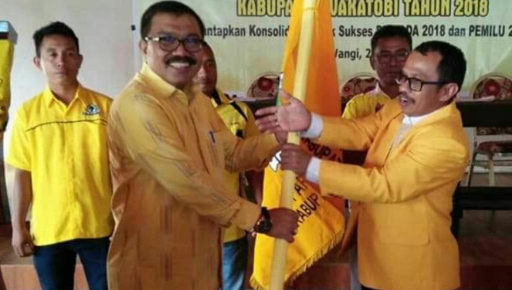 Arhawi Terpilih Secara Aklamasi Pimpin DPD Wakatobi