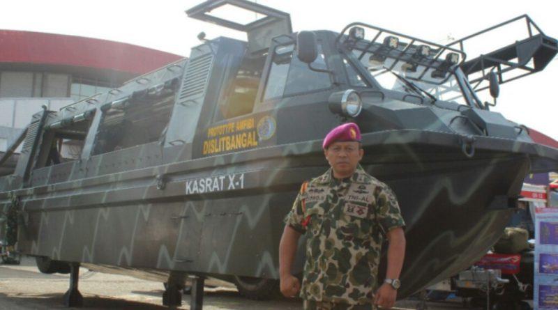 Perwira Angkatan Laut Asal Jepara Penggagas Jip Amfibi