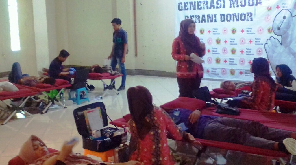 Donor Darah di UMK Terbuka untuk Umum