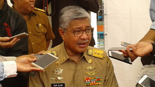 Gubernur Sultra. H. Nur Alam